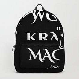 MACHEN ist wie WOLLEN nur Krasser I Motivation design Backpack