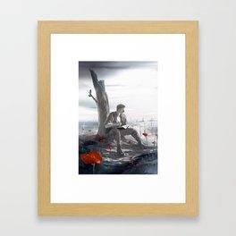 Flanders Fields Framed Art Print