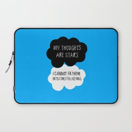 My Thoughts are Stars Laptop Sleeve