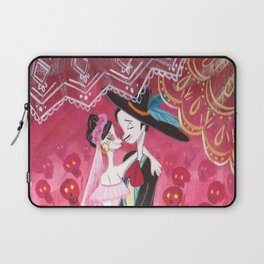 candy skull's wedding Laptop Sleeve