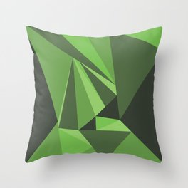 In to the Wild Throw Pillow