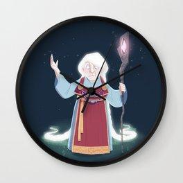Völva - the viking sorceress Wall Clock