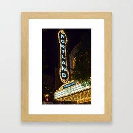 Portland-ized Framed Art Print