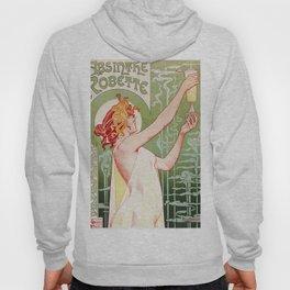 Art Nouveau Absinthe Robette ad Hoody