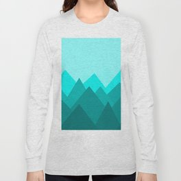 Simple Montains Long Sleeve T-shirt