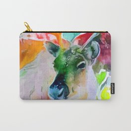 Reindeer Christmas Carry-All Pouch