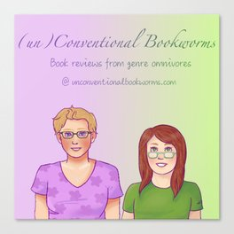 unconventional bookworms Canvas Print