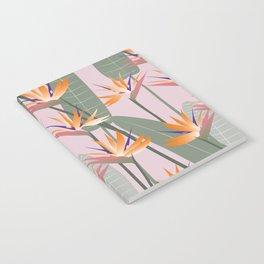 Bird of Paradise - pink Notebook