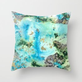 Water's Edge Throw Pillow