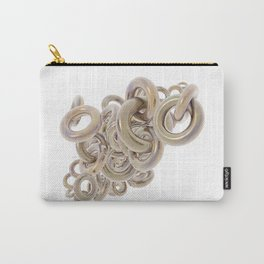 Gold Rings Cluster Carry-All Pouch