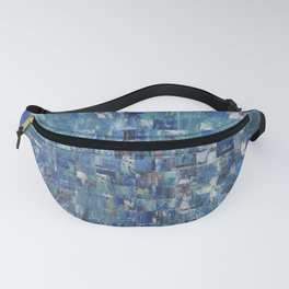 Abstract blue pattern 5 Fanny Pack