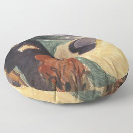 Separation by Edvard Munch Floor Pillow