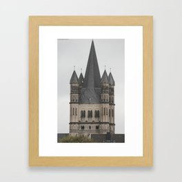 Five Towers Framed Art Print