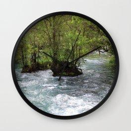 Rushing Waters Wall Clock