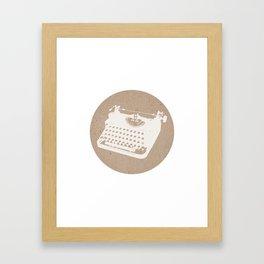 Card-Stock Type Framed Art Print