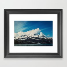 Alaska Mountain Framed Art Print