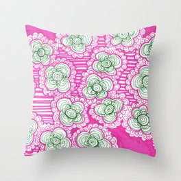 Barnicles and Brusselsprouts Throw Pillow