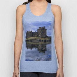 Eilean Donan Castle Scotland Unisex Tank Top