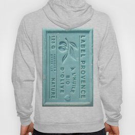blue french marseille soap Hoody