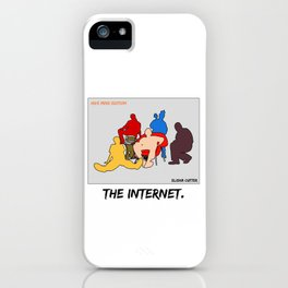THE INTERNET iPhone Case