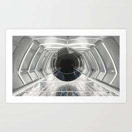 warped orb Art Print