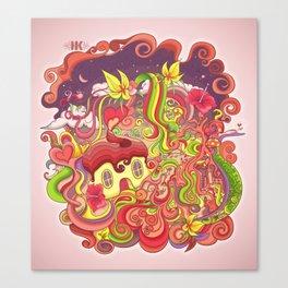 Cosmic Woods Canvas Print