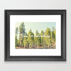 Time for Adventure Framed Art Print