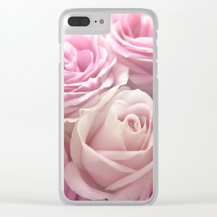 You Make Me Blush Clear iPhone Case