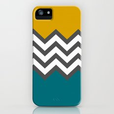 Color Blocked Chevron iPhone (5, 5s) Slim Case