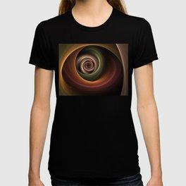 Fractal Depth And Warmth T-shirt