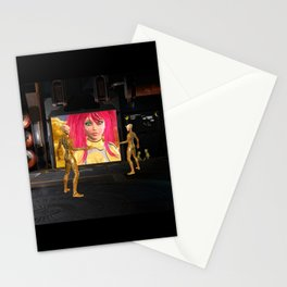 Sci-Fi Martians Alien Princess  Stationery Cards