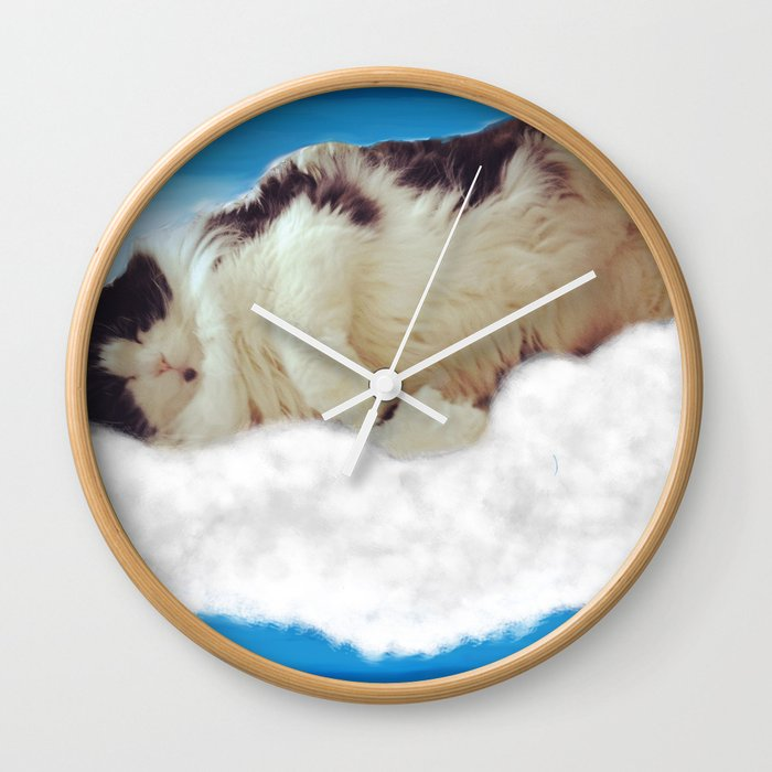 Occasional Angel Wall Clock