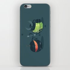 ninja vs samurai iPhone & iPod Skin