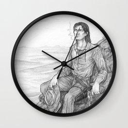 The Gunslinger Wall Clock