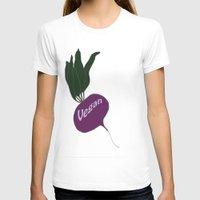 vegan T-shirts featuring vegan by gaus