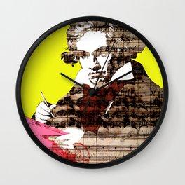 Ludwig van Beethoven 3 Wall Clock