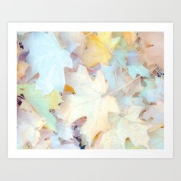 """Autumn Leaves Pastel"" by Murray Bolesta Art Print"
