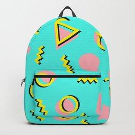 Memphis pattern 61 Backpack