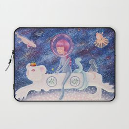 Space Edelweiss Laptop Sleeve