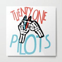 twenty one pillot Metal Print