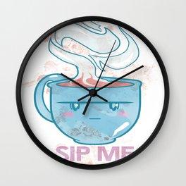 Coffee Mug - Sip Me Wall Clock