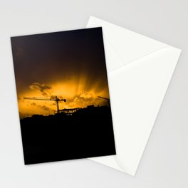 Summer Construction Stationery Cards