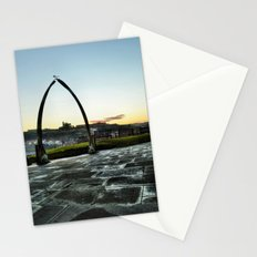 Whitby Whalebone Frost Stationery Cards