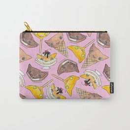 """""""Oro?"""" Ice Creams Pink Carry-All Pouch"""