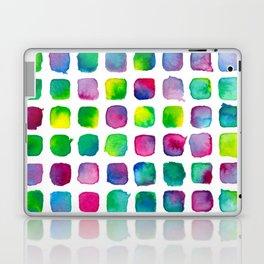 Watercolor Squares Laptop & iPad Skin