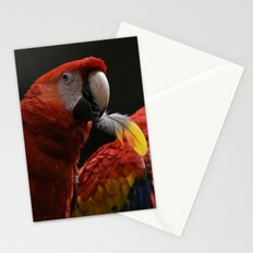 Bird with a Feather Stationery Cards
