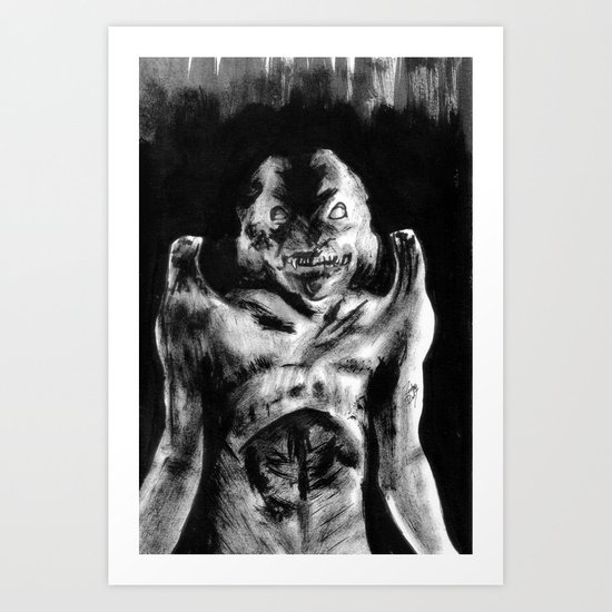 For Each Of Man's Evils A Special Demon Exists Art Print