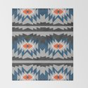 Wintry ethnic pattern by cocosabstractions