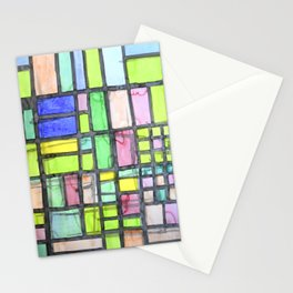 Homage to Mondrian Stationery Cards