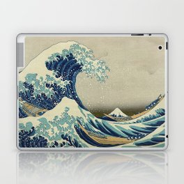 THE GREAT WAVE OFF KANAGAWA - KATSUSHIKA HOKUSAI Laptop & iPad Skin
